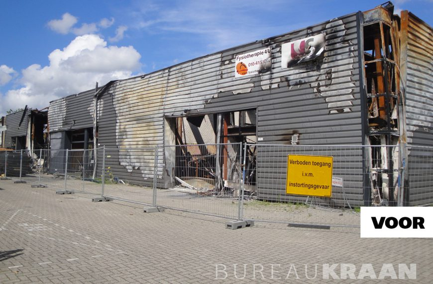Herbouw pand na brand