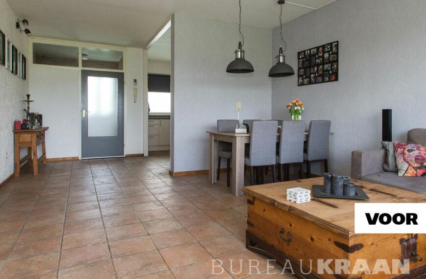Open keuken in flat